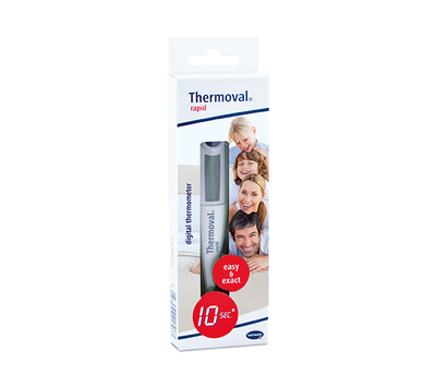 Image THERMOMETRE THERMOVAL RAPID 10 SECONDES