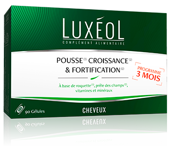 Image LUXEOL POUSSE CROISS/FORTIF 90 GELULES