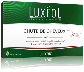 Image LUXEOL CHUTE CHEVEUX 30 CAPS