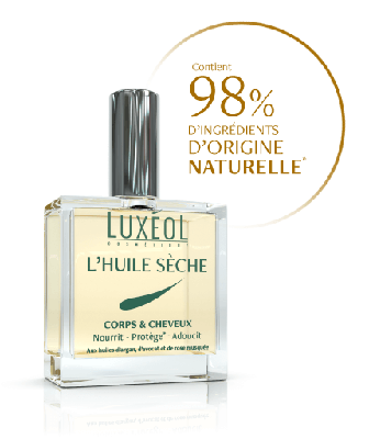 Image LUXEOL HUILE SECHE CORPS  CHEVEUX 100ML