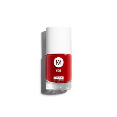 Image MEME VERNIS ONG SILICIUM ROUGE 02 ZAZIE 10ML