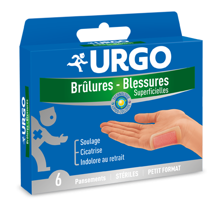 Image URGO BRULURES 6 PANSEMENTS PM