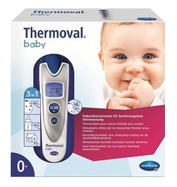 Image THERMOMETRE ELECRONIQUE THERMOVAL SANS CONTACT